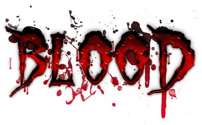 Blood Text Effects