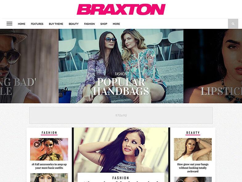Braxton Best Responsive Magazine