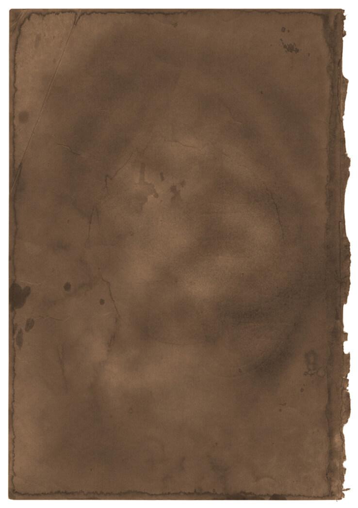 Burnt Brown Paper Texture