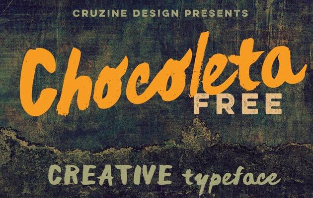 CHOCLETA Free Font