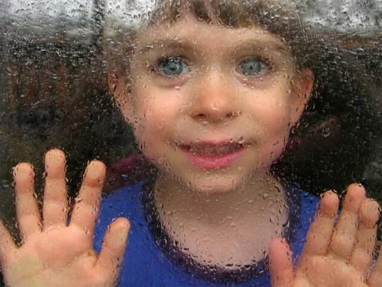 Child Rain Weather Example of Rain Photography