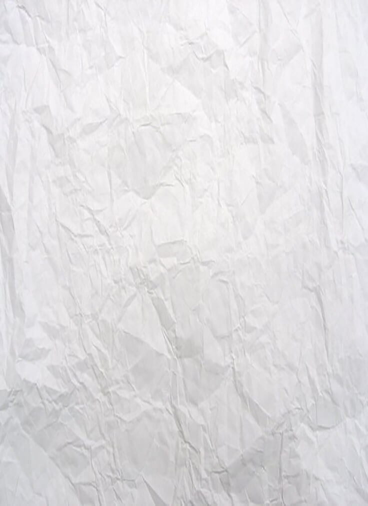 Crumpled white paper texture by melemel High Quality