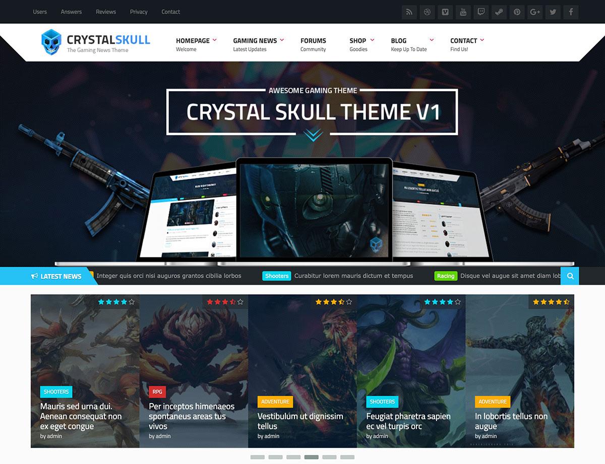 CrystalSkull Responsive Gaming