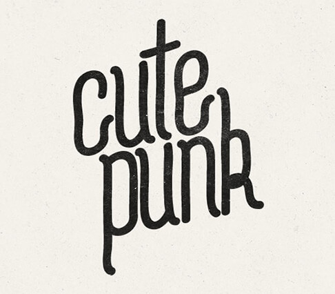CutePunk+font Best Free Font for Hipsters 2017