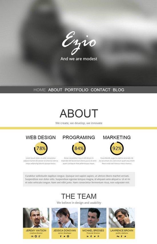 Ezio HTML5 Template