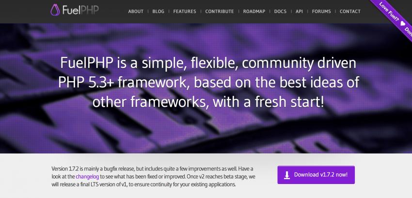 FuelPHP Framework For Web