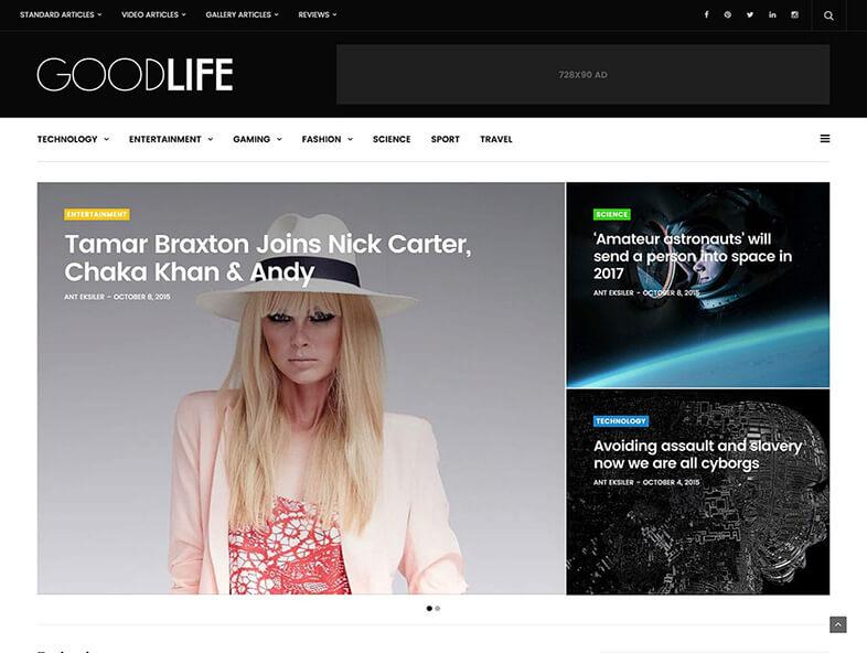 GoodLife 80 Best Responsive Magazine