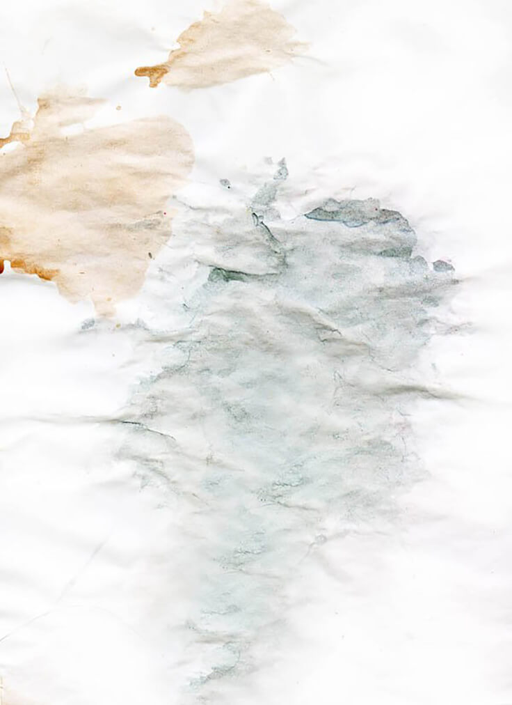 Hi Res Light Watercolor Stains on Crumpled Paper Texture Download