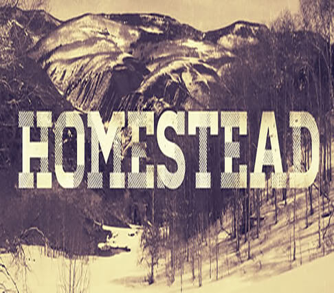 Homestead+font Font for Hipster 2017