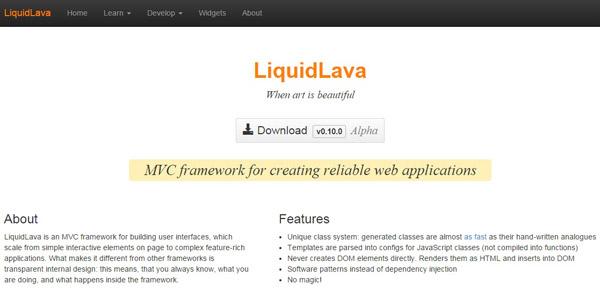 LiquidLava For Web Developers
