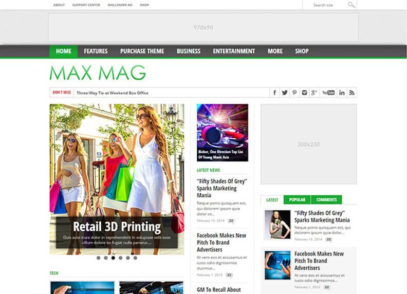 Max Mag 80 Best Responsive