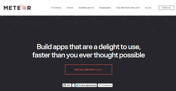 Meteor For Web Developers