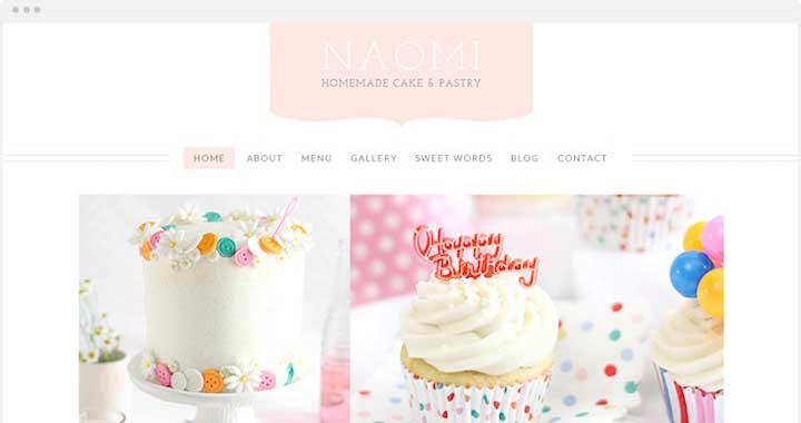 Sweet Cake WordPress Theme Free Download