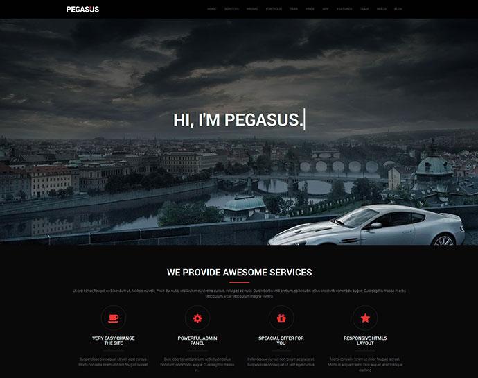 Pegasus Parallax Scrolling