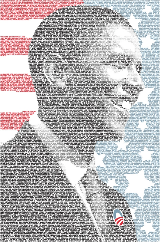 President Text Art and Typography