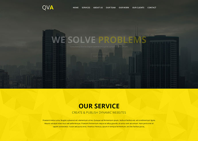 QVA Parallax Scrolling