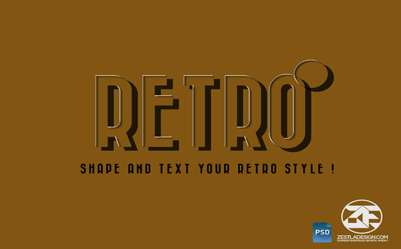 Retro Text Effects Download