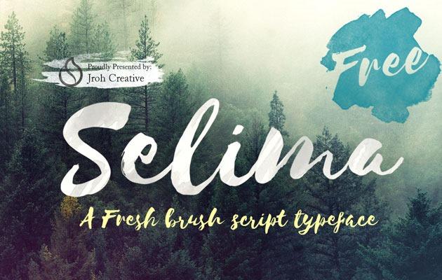 SELIMA Font 2017