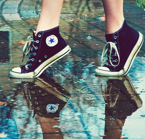 Shoes Road WAter Photography for Inspiration