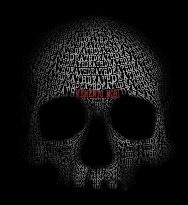 Skull Face Beautiful Example Of Text Art