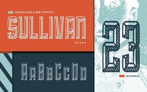 Sullivan Best Free Font for Hipsters