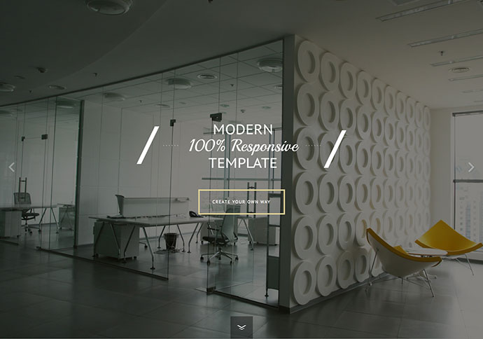 Template Scrolling HTML5