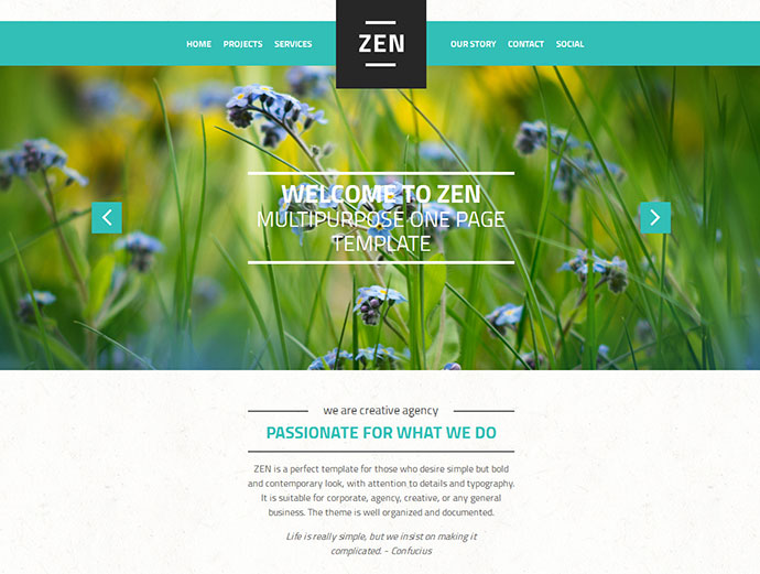 Zen Scrolling HTML5