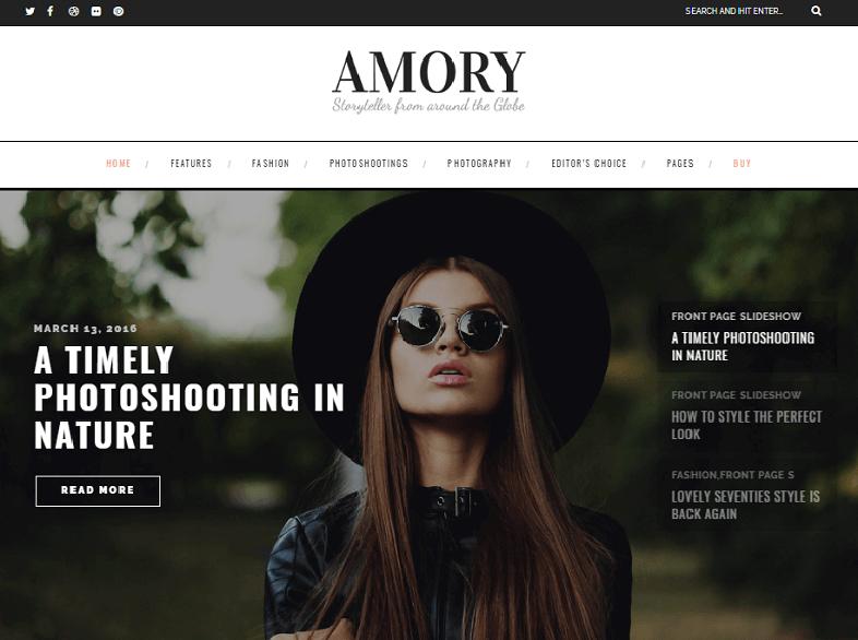 amory Best Responsive Magazine