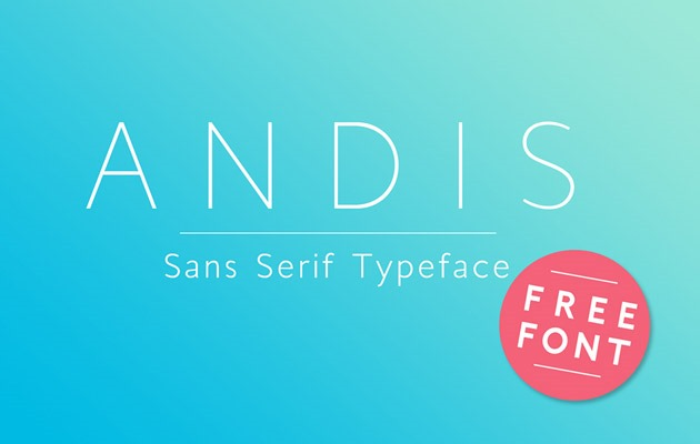 andis Font 2017