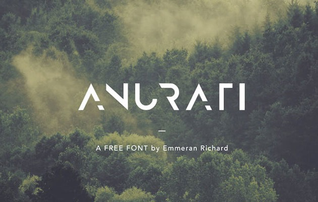 anurafi Free Font