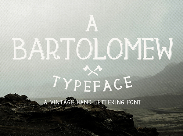 bartomew Free Font 2017 for Graphic Designers