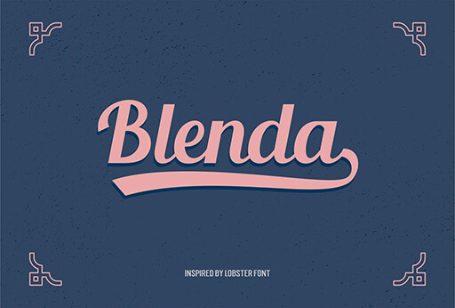 blenda Font for Hipsters