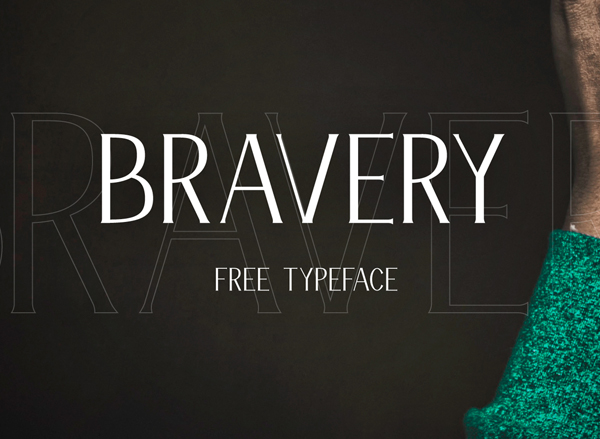 bravery Best Free Font 2017 for Graphic Designers