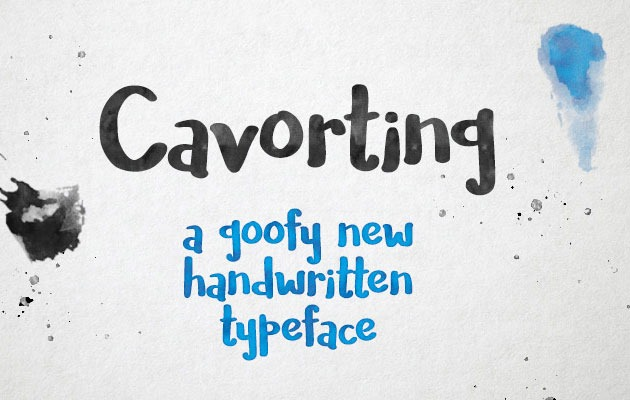 cavorting 2017 for Graphic