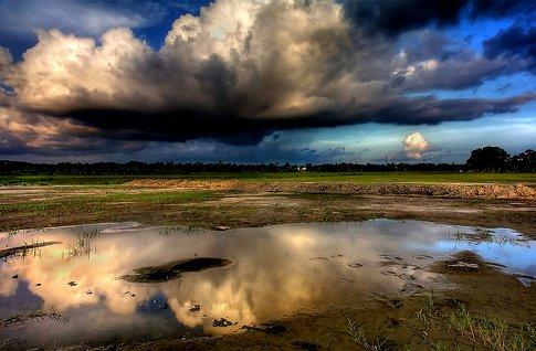 cloud attack Example of Rain
