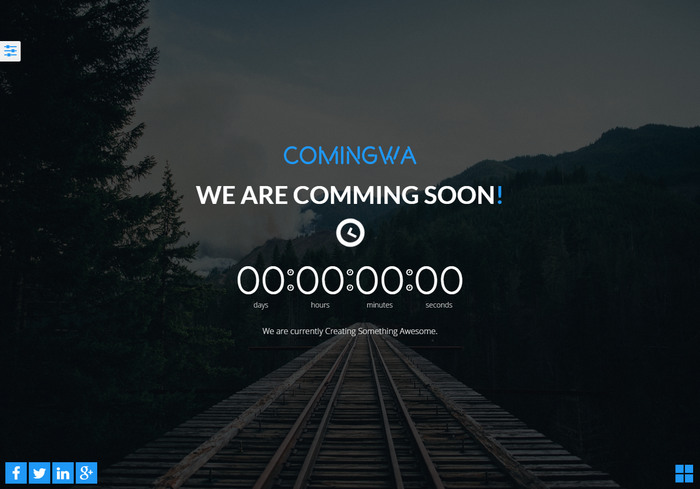 50 Free Coming Soon Under Construction Html Website Templates
