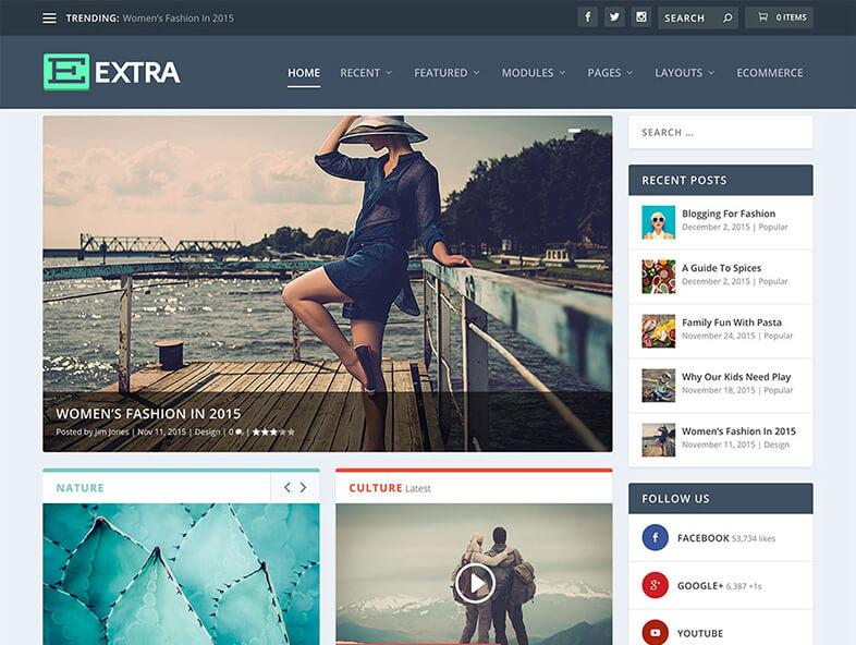 extra 80 Best Responsive Magazine WordPress Theme