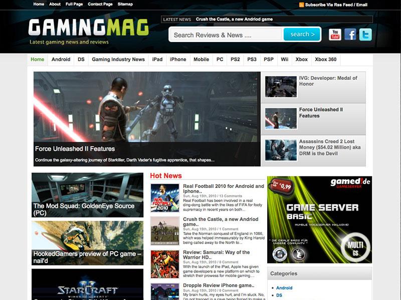 gamingmag Best Responsive Gaming