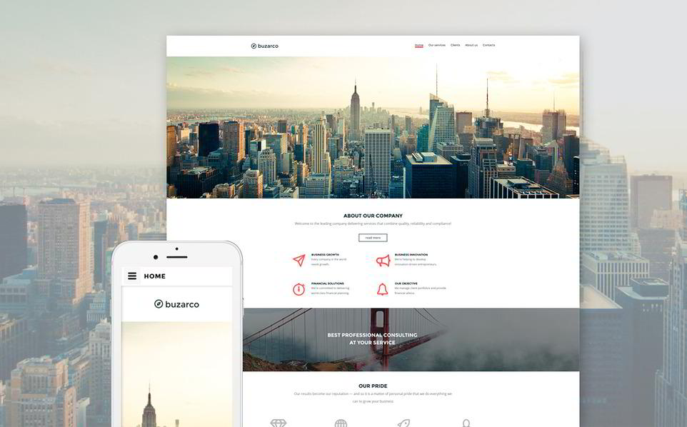 image Best Responsive Parallax Scrolling HTML5 (8)