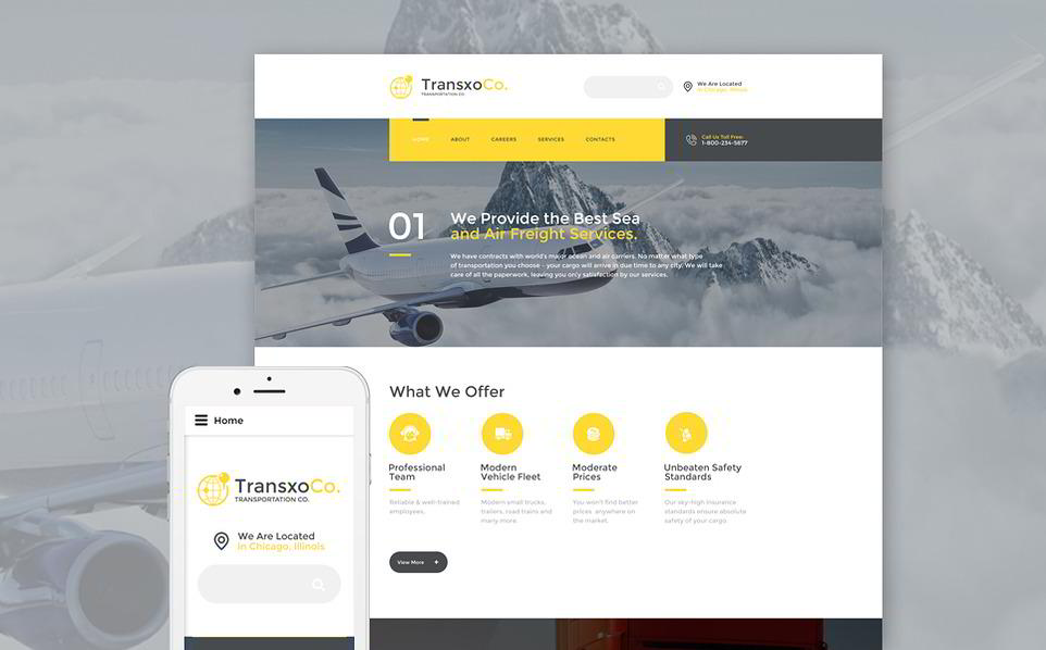 image Best Responsive Parallax Scrolling HTML5 Template (2)