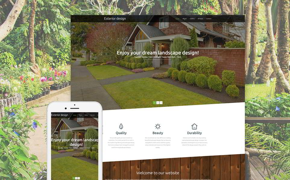 image Best Responsive Parallax Scrolling HTML5 Template