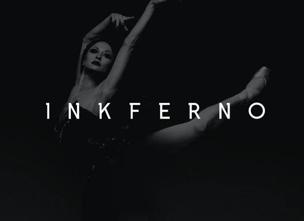 inkferno Free Font 2017
