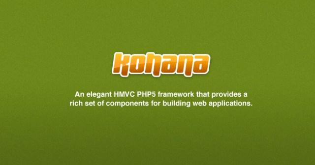 kohana Framework For Web Developers