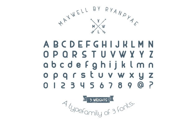 maxqwll Best Free Font
