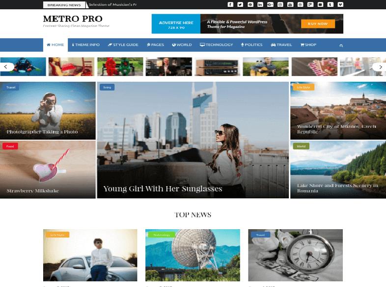 metro 80 Best Responsive