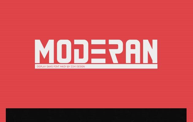 modern Best Free Font