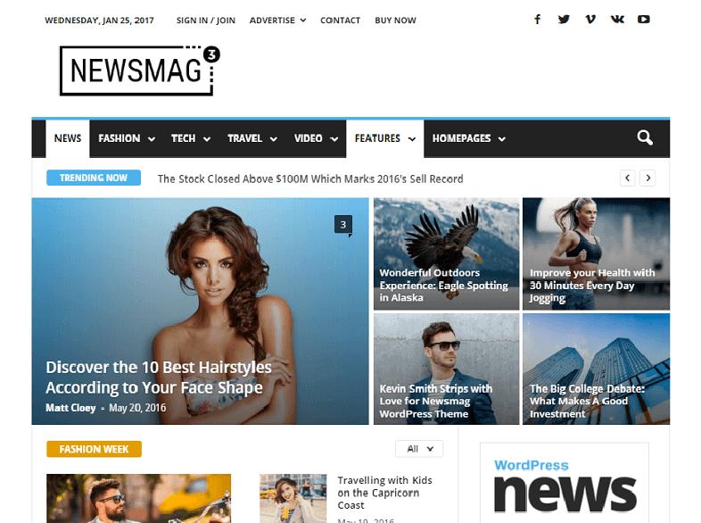 newsmag 80 Best Responsive Magazine