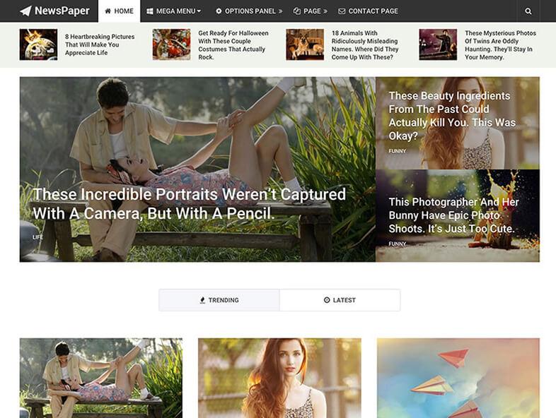 newspaper Magazine WordPress