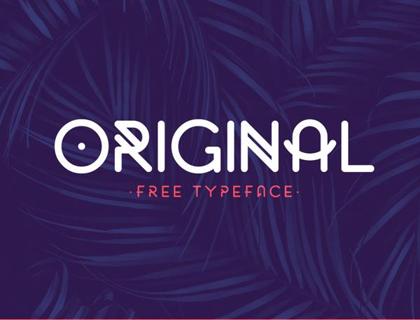 original Best Free Font 2017 for Graphic Designers