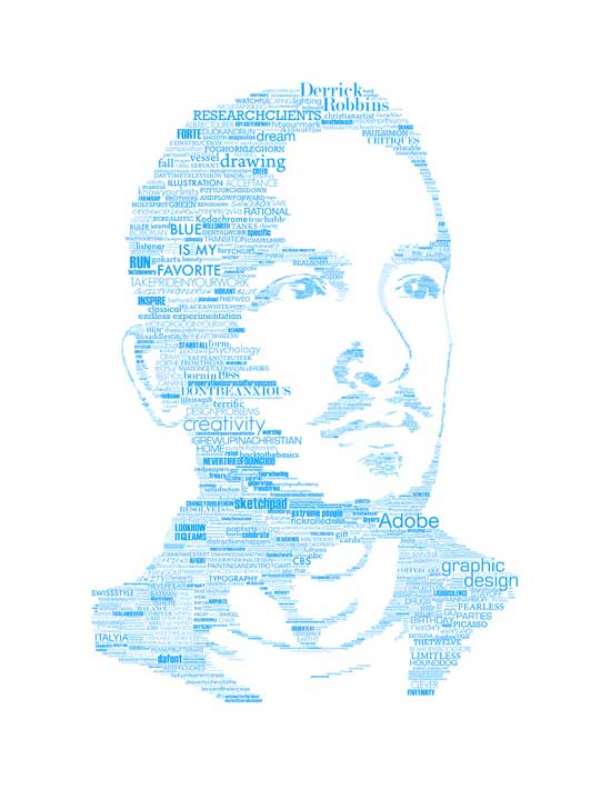self portrait Art and Typography Art